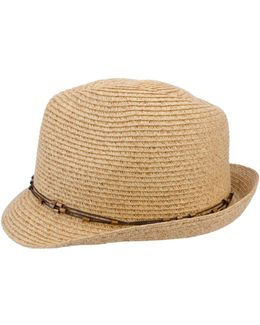 Packable Classic Fedora Hat