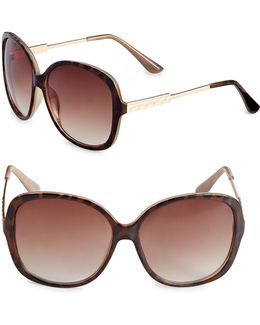 Combo 60mm Square Sunglasses