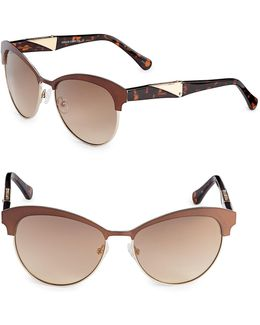 Vintage Combo 59mm Cat-eye Sunglasses