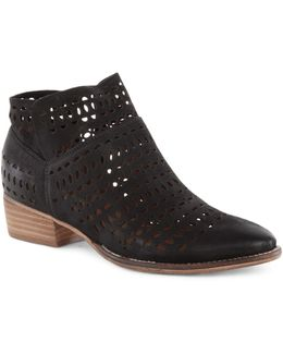 Tame Me Leather Booties
