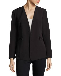 Zip-pocket Blazer
