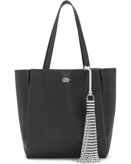Nylan Small Pebbled Leather Tote