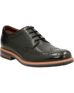Melshire Wing Leather Oxford Shoes