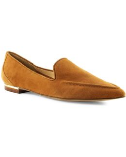 Zarina Suede Loafers