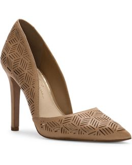 Charie Leather Pumps