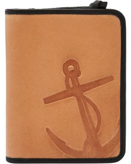 Troy Rfid Leather Passport Case