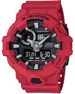 Ga700 G Shock Analog Resin Strap Watch