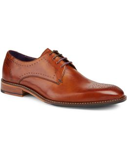 Marar Punched Derby Shoes