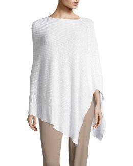 Organic Linen-cotton Slub Poncho