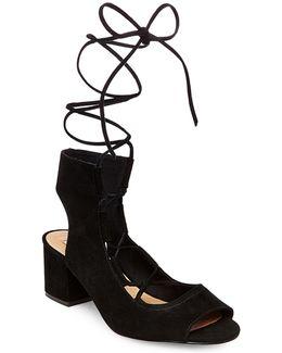 Admire Suede Lace-up Shoes