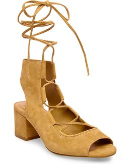 Admire Suede Lace-up Shoes
