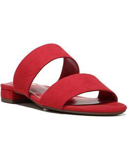 Delaney Micro-suede Sandals