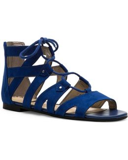 Hagan Gladiator Micro-suede Sandals