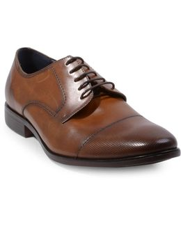 Pasage Faux Leather Oxford Shoes