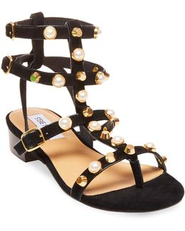 Crowne Studded Sandals