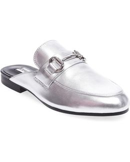 Kandi Leather Loafer Slides