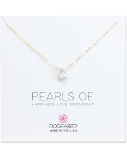 Baroque Fresh Water Keshi Pearl Sterling Silver Necklace