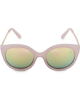 Glamours 53mm Oval Sunglasses