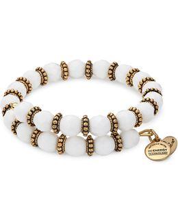 Cloud Spirit Rafelian Gold Wrap Bracelet