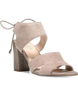 Gem Light Suede Sandals