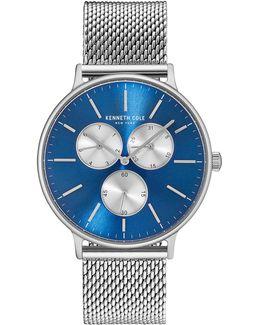 Kc14946011 Stainless Steel Mesh Bracelet Watch