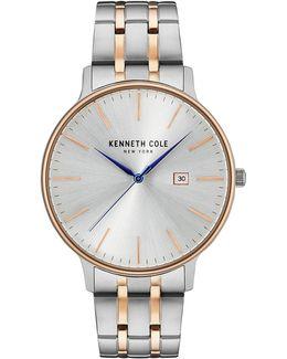 Analog Kc15095003 Two-tone Stainless Steel Bracelet Watch