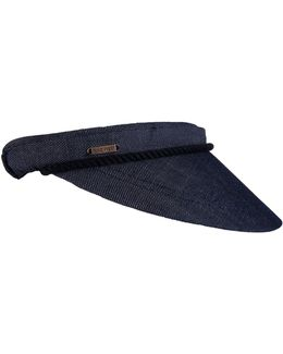 Clip-on Canvas Visor