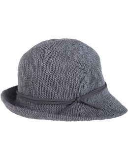Textured Knit Fedora