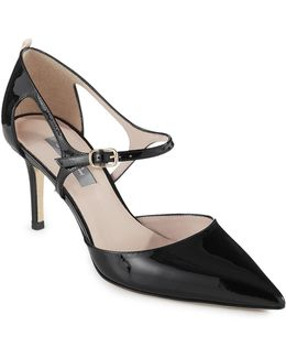 Phoebe Leather Mary Jane Heels