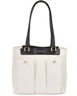 Dressy Nylon Tote Bag