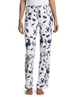 Plus Printed Sleep Pants