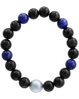 Lapis Lazuli And Tiger Eye Bracelet