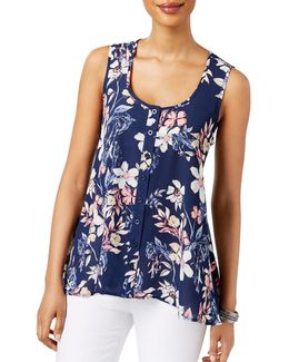 Bella Floral Printed Top