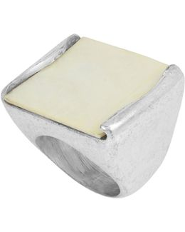Faux Mother-of-pearl Ring