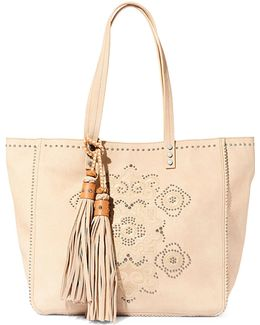 Jraven Embroidered Tote