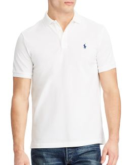 Classic Fit Stretch-mesh Polo