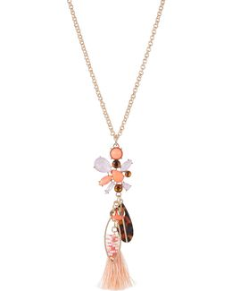 Multi-charm Pendant Necklace
