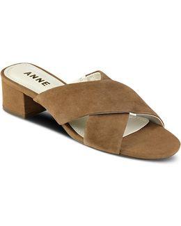 Sansa Strappy Suede Sandals