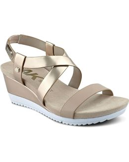 Shanni Open Toe Wedged Sandals