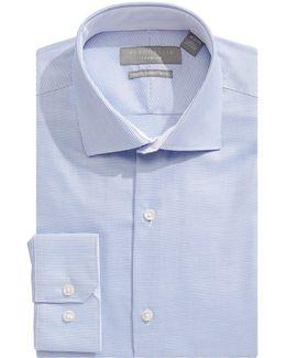 Slim Fit Nailhead Dress Shirt
