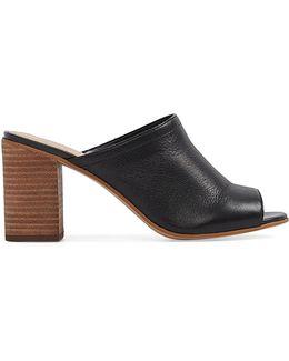 Dorthy Block Heel Mules