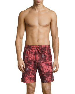 Filter Printed Volley Shorts