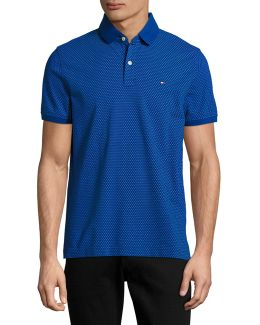 Ryno Diamond Print Polo