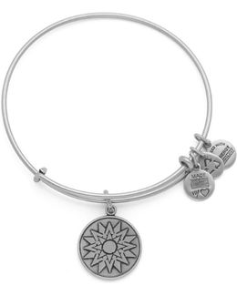 New Beginnings Charm Bangle Bracelet
