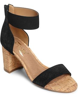 High Hopes Suede Sandals