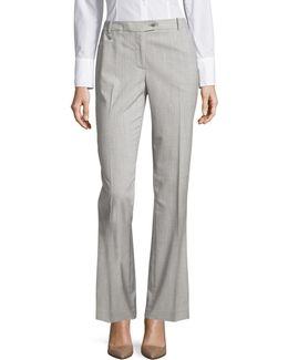 Glen Plaid Modern Fit Pants