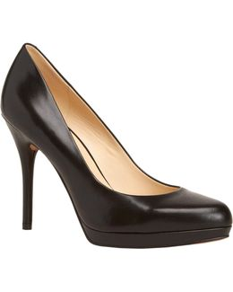 Kristal Leather Pumps