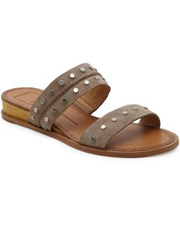 Pacey Studded Leather Sandals