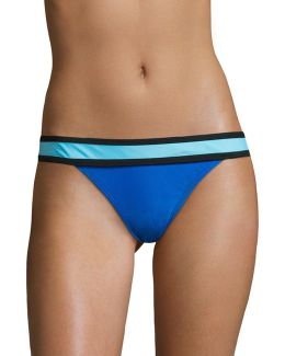 Colourblock Banded Hipster Bottoms