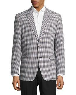 Linen Vented Sports Jacket